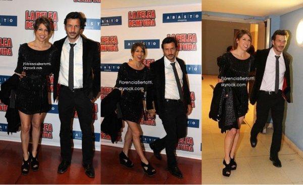 03.09.12 Florencia Bertotti, Federico Amador, Mariana Esposito & Benjamin Rojas étaient à la première de ''La Pelea de my Vida''
