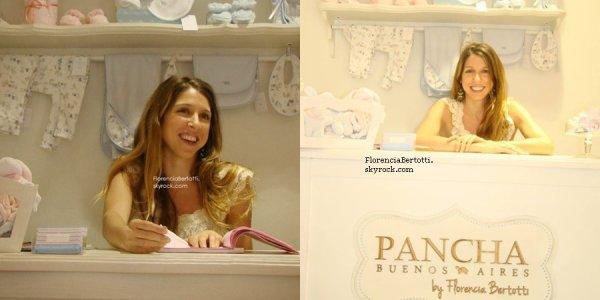 Florencia a sa boutique de vêtements pour bébé !