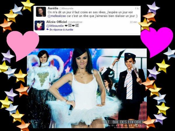 (l) Alizée (l) Vive twitter , ça fait plaisir de savoir qu'elle sait .. :D