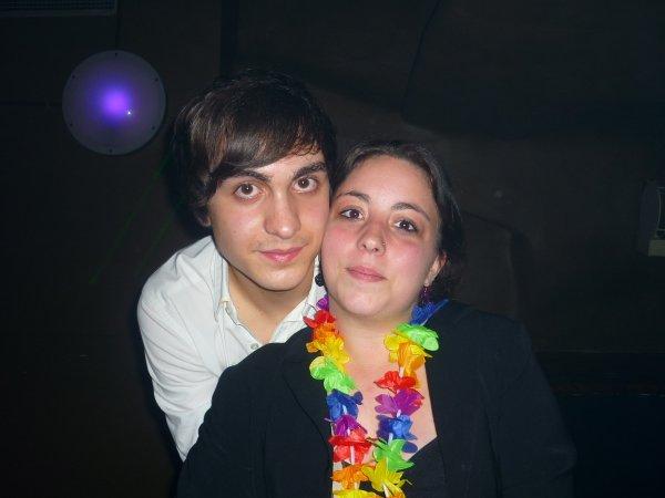 Roberto le gagnant de Thevoice Be et moi au B-club le 6 avril ;)