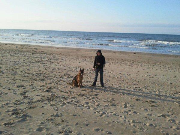 [ Junior & Hélios ] à la plage