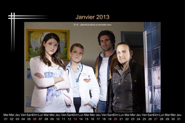 Calendrier alerte cobra de l'année 2013 + calendrier de janvier  2013 (MAJ DU 29/12/12)
