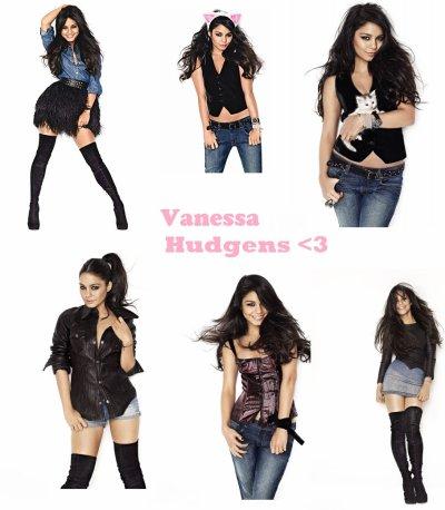 Vanessa Hudgens : Elle pose pour le magazine glamour .