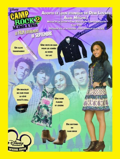 Demi Lovato : Son look dans Camp Rock 2