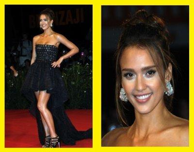 Jessica Alba : robe de soirée , Comment vous la trouvez