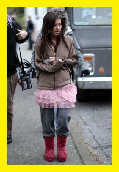 Ashley Tisdale : horreur look