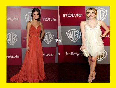 Selena Gomez  VS Emma roberts.
