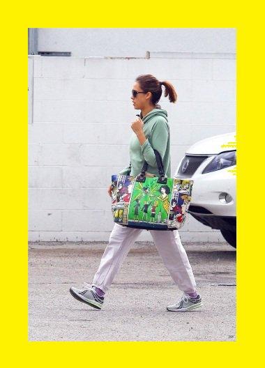 Jessica Alba : Jogging
