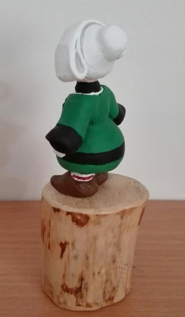 Statuette miniature, 100% fait main, modèle unique - BECASSINE