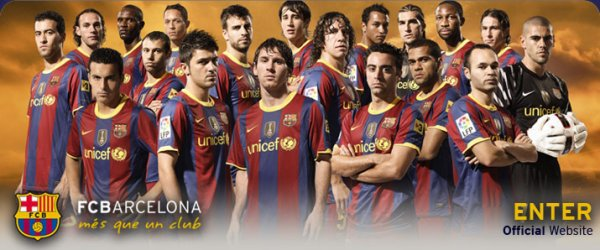 ★SKYROCK   FCBarcelone 2010 / 2011