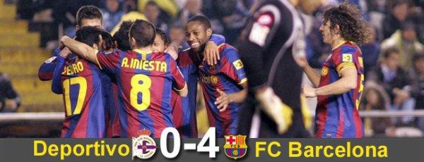 ★SKYROCK   FCBarcelona VS  Deportivo la Corogne Liga