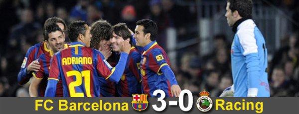★SKYROCK   FCBarcelona VS  Racing Santander Liga