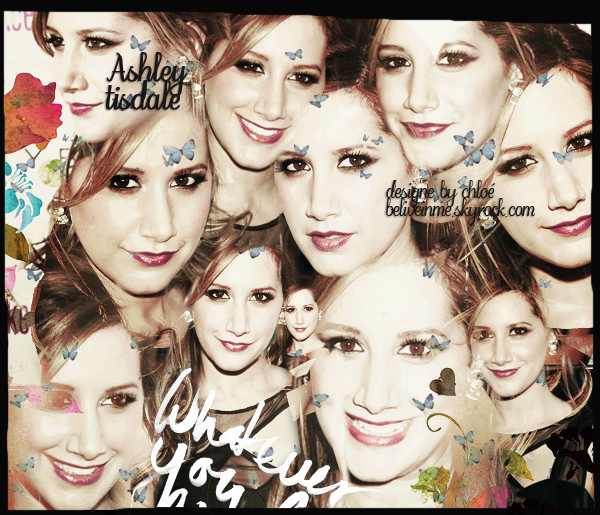 ♥.(c)beliveinme   ta source sur ASHLEY TISDALE :  ♥