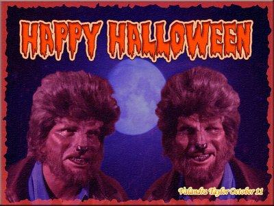 Et une créa sur Halloween… La toute dernière que j'ai faite via mon autre blog…
