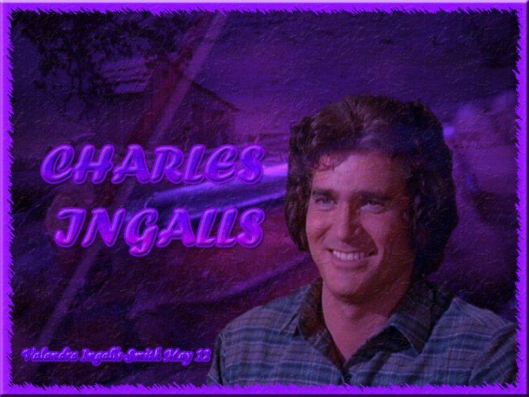 Et une créa sur Charles Ingalls…