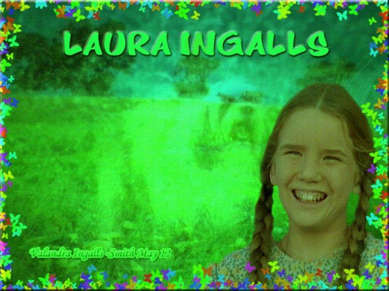 Je ne pouvais pas passer à côté d'une créa sur Laura Ingalls…