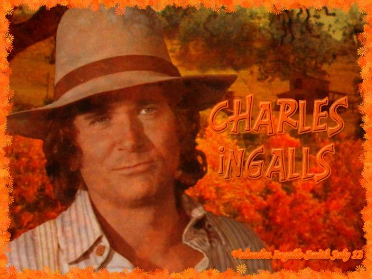Pour commencer, une créa sur Charles Ingalls…