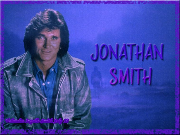 Pour terminer cet hommage à Michaël Landon, une créa sur Jonathan Smith…