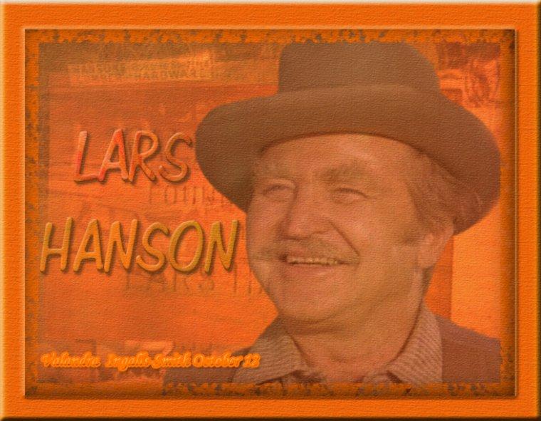 Arrêtons-nous un instant sur Lars Hanson…