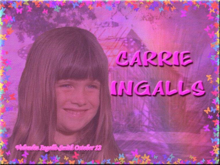 Pour les fans de ce personnage, voici une créa sur Carrie Ingalls…