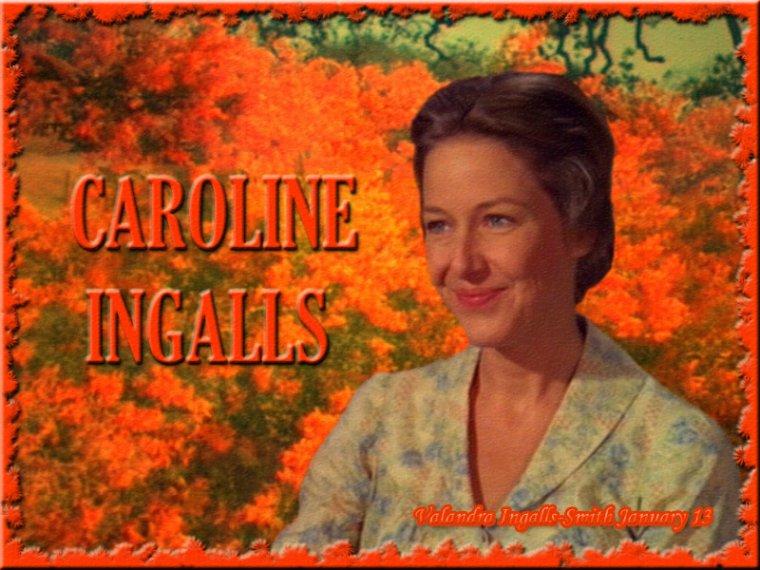 Parlons un peu de Caroline Ingalls…