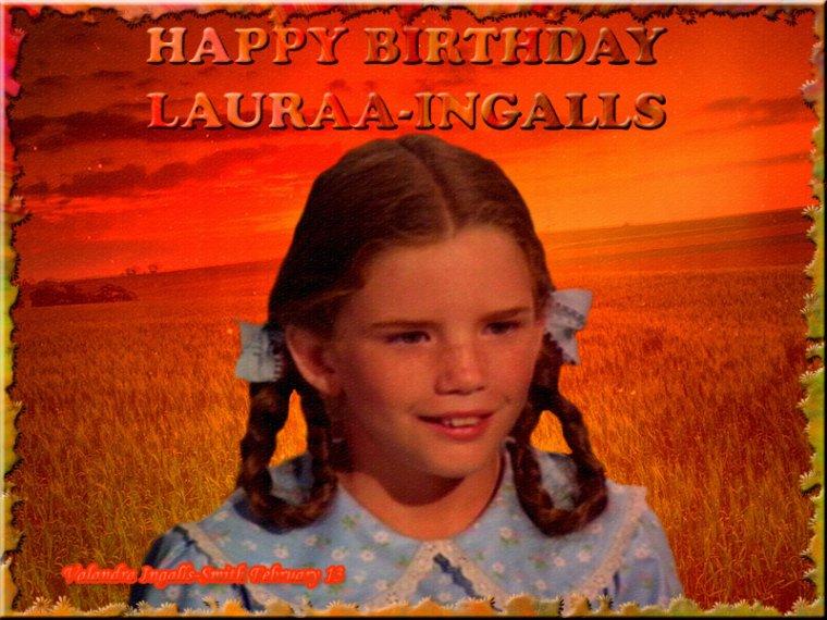 Joyeux anniversaire Lauraa-Ingalls… Avec un jour de retard ^^…