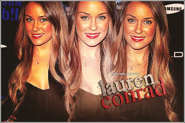 * Bienvenue sur ConrdLauren ta source pour suivre l'actualité de Lauren Conrad !*
