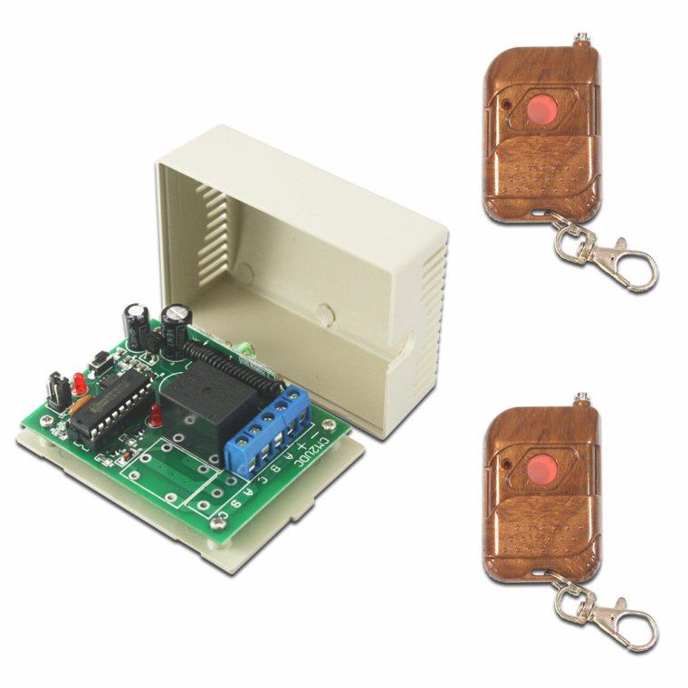 Wireless DC Motor Remote Controller & Digital Screen Speed Governor for adjusting the Speed of Motor Rotation