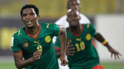 E To O Aide Toi Samuel Eto T Aidera Connu Comme L Un Des Meilleurs Attaquants Au Monde Le Jeune Footbaleur Camerounais N Est Pas