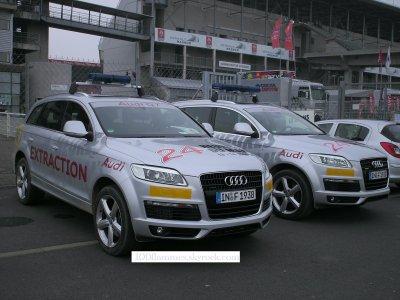 """Véhicule """"Extraction"""". Circuit du Mans"""