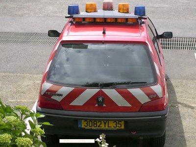 VL Peugeot 106. Rennes Le Blosne