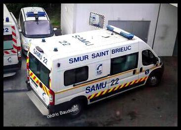 SMUR St brieuc UMH 3 et UMH pédiatrique