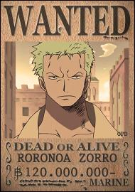 Zoro 2 prime onepiece - One piece wanted 2 ans plus tard ...