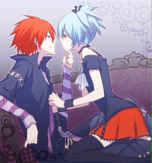 ( ASSASSINATION CLASSROOM ) ( Nagisa X Karma ) O(^W^)O