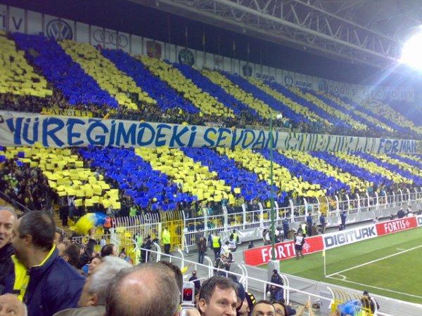 Les supporters de Fenerbahçe