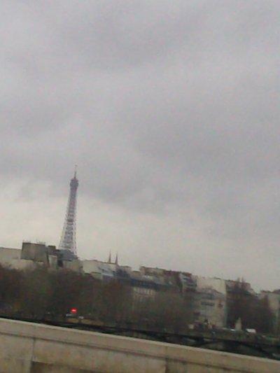 Le haut de la tour Eiffel :)