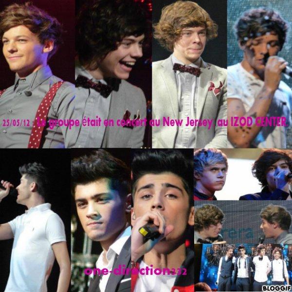 le 25 mai Les garçons donnaient un énième concert au « Izod Center » dans le New Jersey (le troisième)