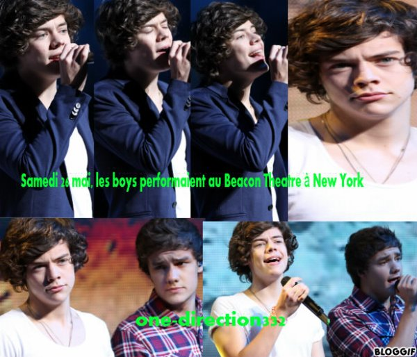 Samedi 26 mai,les boys performaient au Beacon Theatre à New York