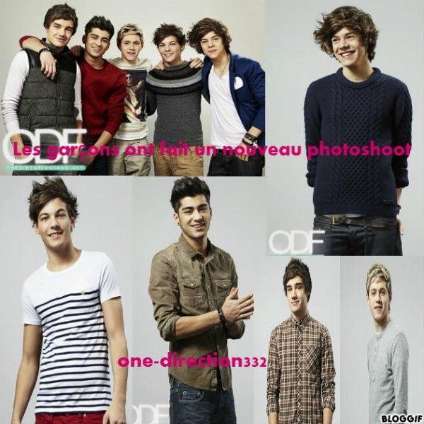 Les garçons ont fait un nouveau photoshoot
