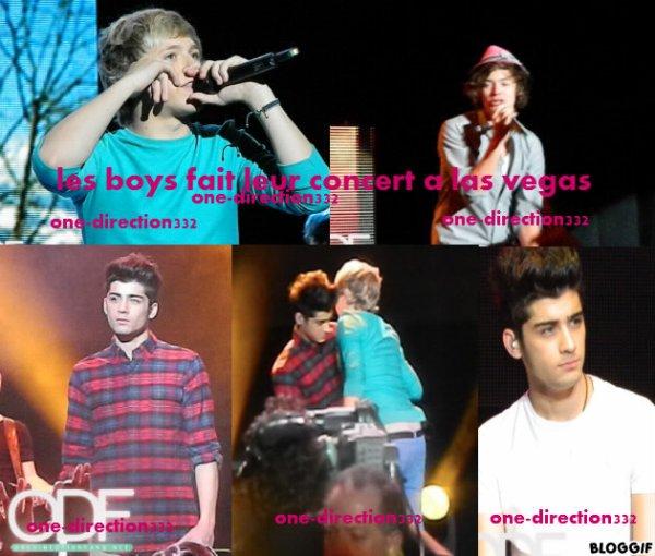 le 09/06/2012 les boys fait leur concert a las vegas