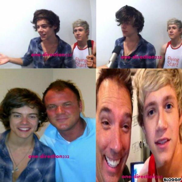 le 10/06/2012 Harry et Niall à l'interview de Rich et Johnjay