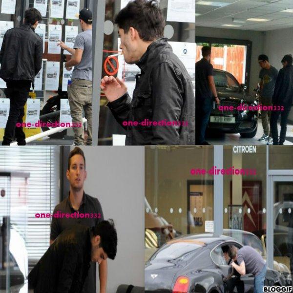 le 05/07/2012 Harry dans les rues de Londres avec Lou Teasdale, la mère de Lux.