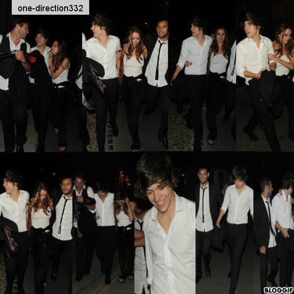 le 28/07/2012 Harry sortant de l'hôtel a londres