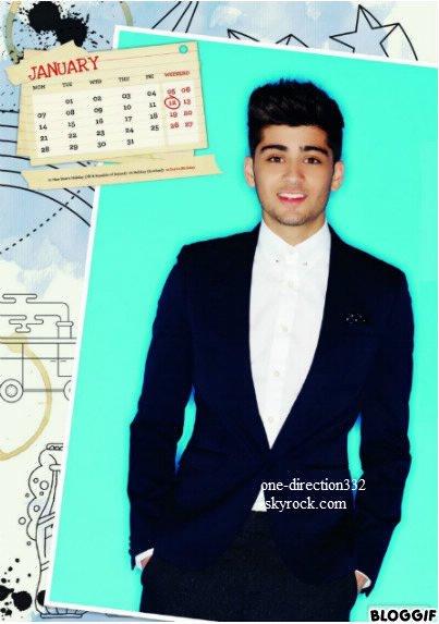 Nouvelle photo du photoshoot pour le calendrier 1D (Le calendrier sera en vente le 31 août sur leur site officiel) :