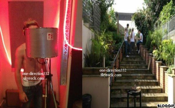 le 17/08/2012 harry se pose avec des fan dans supermarché a londre +niall se pose avec une fan dans la rue a londre