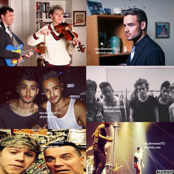 le 1 novembre 2013 -  Liam, Niall & Harry en boite à Tokyo