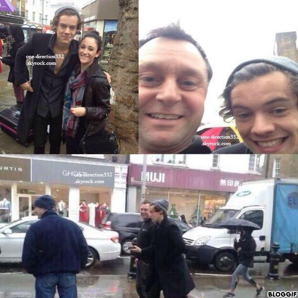 le 7 novembre 2013 - Harry à Londres