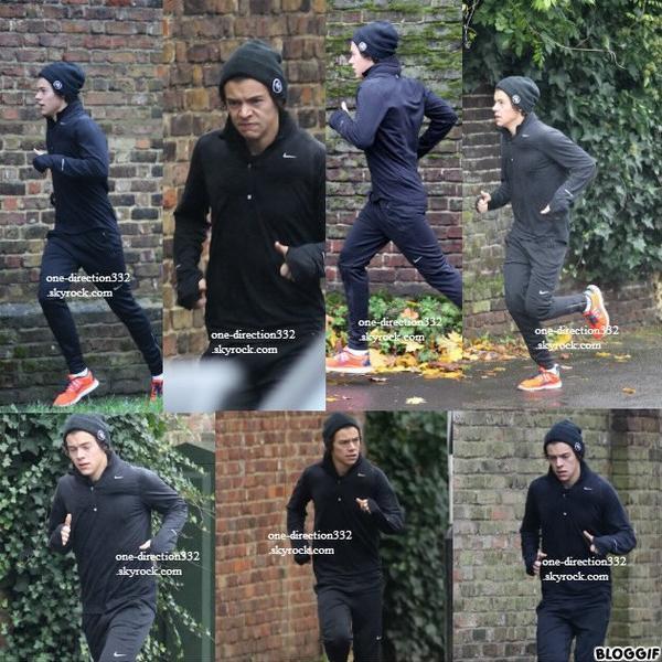 le 12 novembre 2013 - Harry avec Lou & des fans à Londres