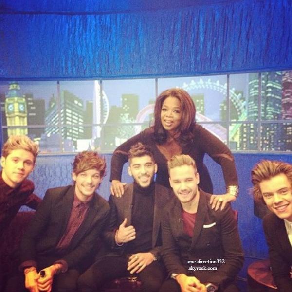 le 16 novembre 2013 - les boys au Jonathan Ross Show.