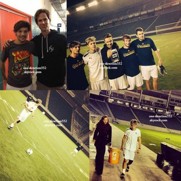 le 21 novembre 2013 - Louis, Liam & Niall à Los Angeles